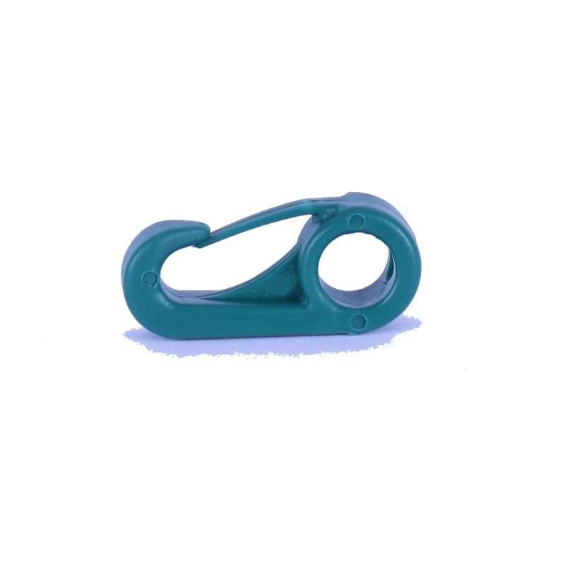 Mousqueton Plastique Vert